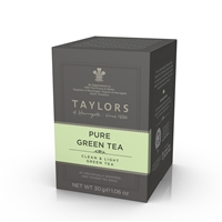 Taylors of Harrogate Pure Green Tea - 20 Wrapped Tea Bags