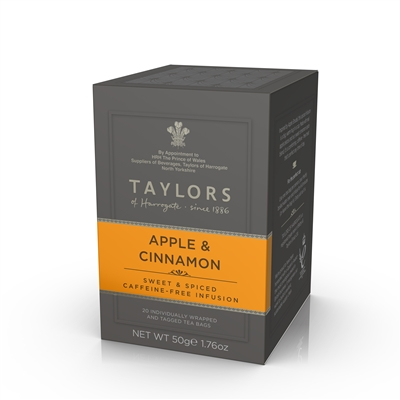 Taylors of Harrogate Apple and Cinnamon - 20 | Brand of Britain
