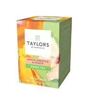 Taylors White Hibiscus & Peach Green Tea - 20