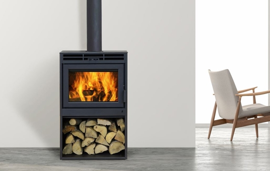 Supreme Novo 18 Wood Stove Fireplace At Obadiah S Woodstoves