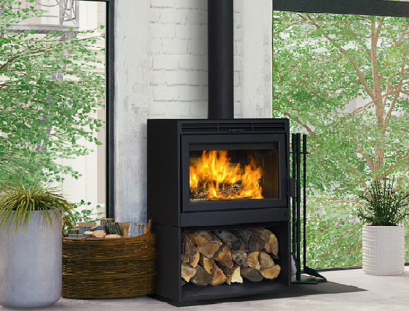 Supreme Novo 24 Wood Stove Fireplace At Obadiah S Woodstoves