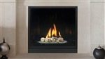 Majestic Solitaire Direct Vent Gas Fireplace