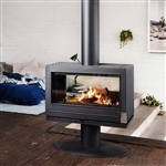 Invicta Nelson See-Thru Wood Burning Stove