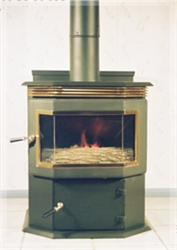 Keystoker 75000 Baywindow Coal Stove