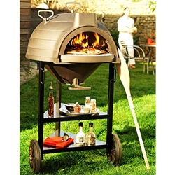 Invicta Lo Goustaou Multi-Function Wood / Bread Oven with Trolley