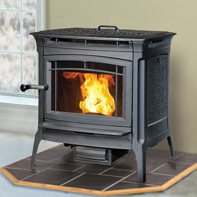 Hearthstone Manchester 8330 Cast Iron Pellet Stove At