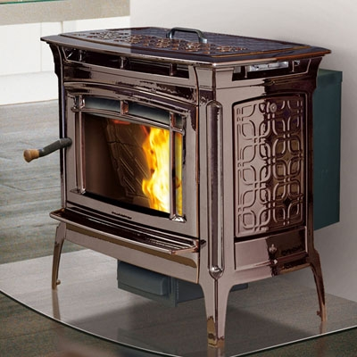 Hearthstone Manchester 8330 Cast Iron Pellet Stove at ...