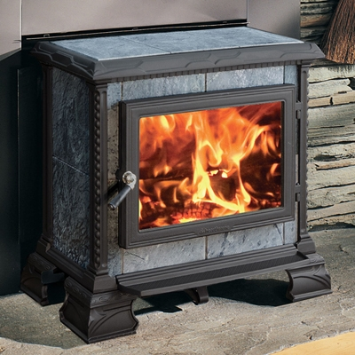 Hearthstone Homestead 8570 Hearthmount Soapstone Wood Stove