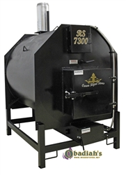 Crown Royal RS7400ID Indoor Biomass Boiler