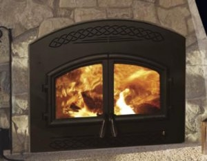Heatilator Constitution Wood Fireplace at Obadiah's Woodstoves.
