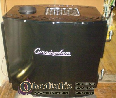 Cunningham 203 Amish Wood Stove - Cunningham 203 Amish Made Wood Stove At Obadiah's Woodstoves.