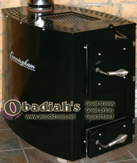 Cunningham 203 Amish Made Wood Stove At Obadiah S Woodstoves