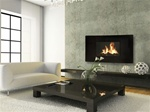Celsi Curved Wall Hanging Electric Fireplace