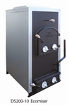 DS Machine Stoves 200-10 Ecomiser Coal and Wood Furnace