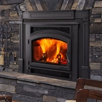 Quadrafire Expedition II Wood Fireplace Insert