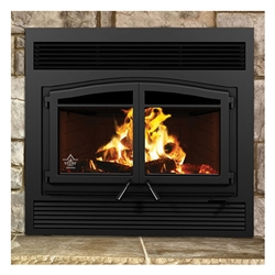 Flame Monaco XL Wood Burning Zero Clearance Fireplace