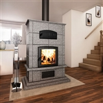 Valcourt FM1000 Mass Wood Fireplace with Oven