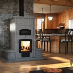 Valcourt FM1200 Mass Wood Fireplace with Oven