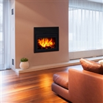 Supreme Galaxy Modern EPA Wood Burning Fireplace