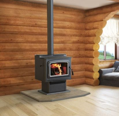 Ironstrike Grandview 300 Freestanding Wood Stove At Obadiah S Woodstoves