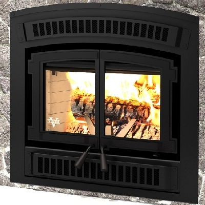The Ventis HE200 High Efficiency Zero Clearance Wood Burning Fireplace and more heating products available through Obadiah