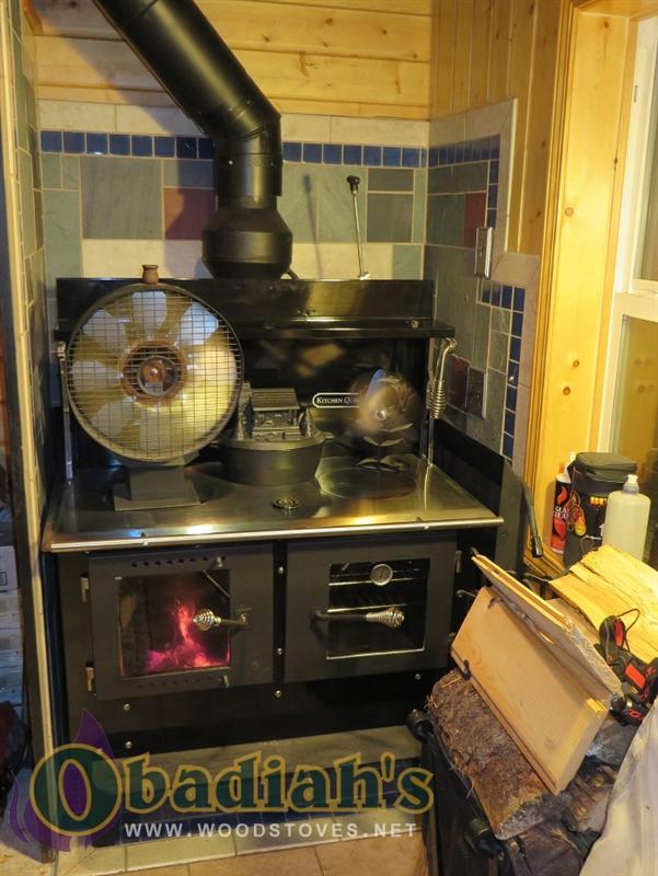 Kitchen Queen 380 Wood Cookstove