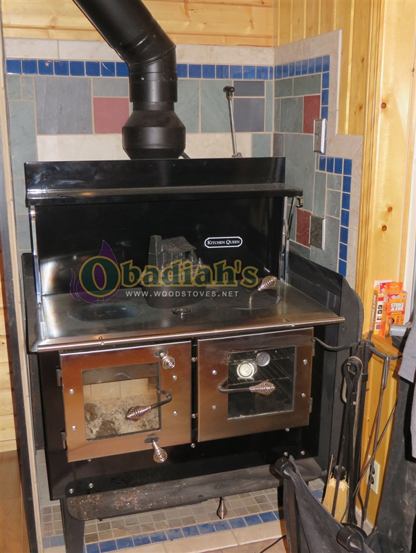Kitchen Queen 480 Cookstove - Kitchen Queen 480 Wood Cookstove