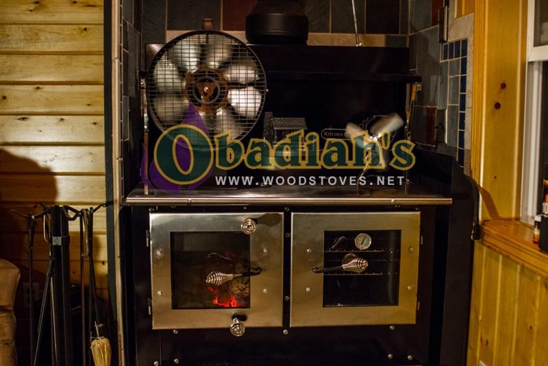 Kitchen Queen 480 Cookstove - Kitchen Queen 480 Wood Cookstove
