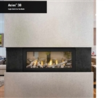 Napoleon L38N Acies Linear Direct Vent Gas Fireplace