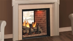 Majestic KSTDV Marquis See-Thru Direct Vent Gas Fireplace