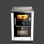 Rizzoli ML60 Lux Classic Wood Burning Cookstove