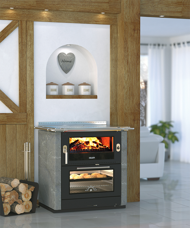 Rizzoli ML80 Classic Wood Cook Stove
