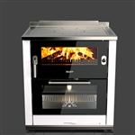 Rizzoli ML80 Lux Wood Burning Cookstove