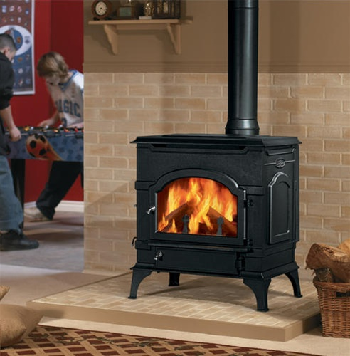 Cast Iron Wood Burning Fireplace Fordupont Living Design - Cast Iron Wood Stoves WB Designs