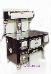 Margin Gem Wood Cookstove By Margin Wood