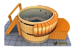 Northern Lights Classic HT10 Cedar Hot Tub