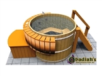 Northern Lights Classic HT4 Cedar Hot Tub