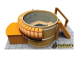 Northern Lights Classic HT6 Cedar Hot Tub
