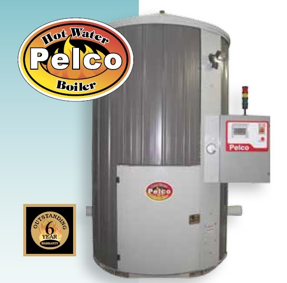 Pelco 1020 Hot Water Biomass Boiler