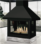 J.A. Roby Pampero Direct Vent Gas Fireplace
