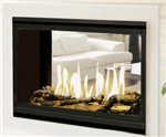 J.A. Roby Suroit Direct Vent See-Thru Gas Fireplace