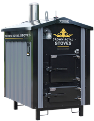 Crown Royal RS7200E-EPA-Outdoor-Wood-Gasification-Furnace Boiler