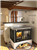 Rizzoli S90 Round Arch Wood Burning Cookstove