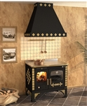 Rizzoli S90 Story Vintage Wood Burning Cookstove