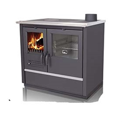 Tim Sistem North Hydro Wood Cookstove with Hydronic Boiler System - Used for Central Heating