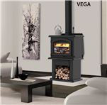 J.A. ROBY Vega EPA Wood Burning Stove