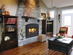 Vermont Castings Stratton Cast Iron Wood Burning Fireplace