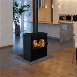 Supreme Vision See-Through EPA Wood Burning Stove