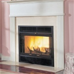 "36"" Majestic WarmMajic Wood burning Fireplace"