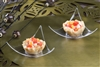 "EMI-Yoshi Small Wonders Emi-612 Aster Dish 2.5"" Mini Triangle Sample Plates"